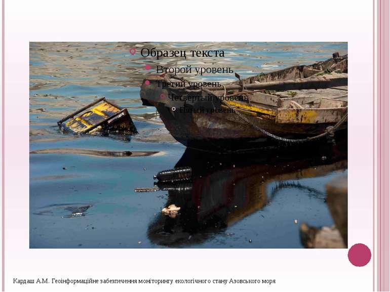 Кардаш А.М. Геоінформаційне забезпечення моніторингу екологічного стану Азовс...