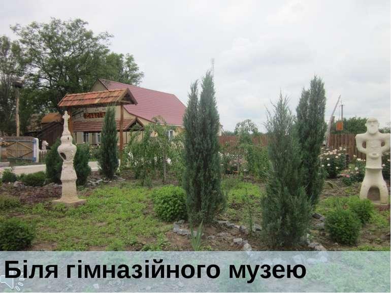 Біля гімназійного музею Куплет Зелене Жито