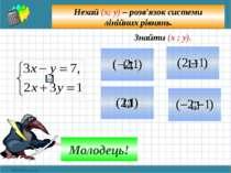 Розв'яжіть системи лінійних рівнянь способом додавання