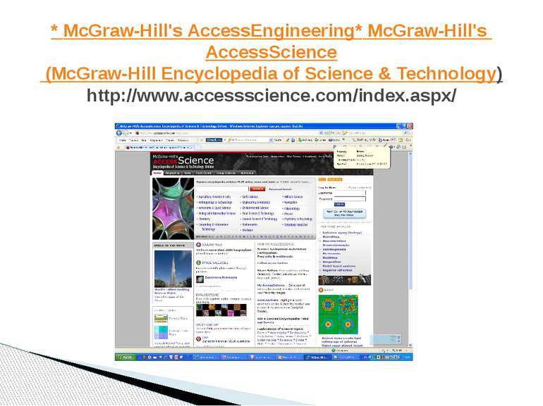 * McGraw-Hill's AccessEngineering * McGraw-Hill's AccessScience (McGraw-Hill ...