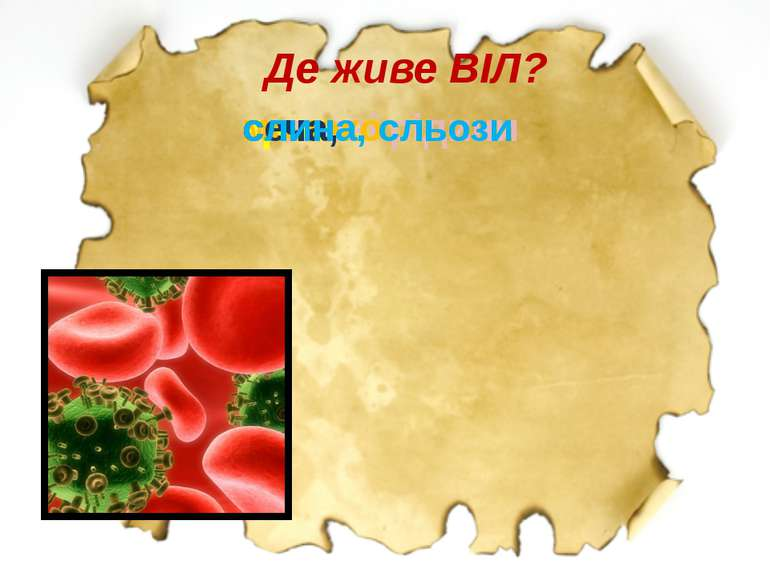 Де живе ВІЛ?