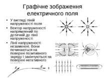 Графічне зображення електричного поля У вигляді ліній напруженості поля Векто...