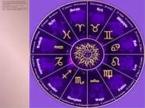 """Зодіак — слово грецьке, яке означає """"коло тварин"""". Зодіак — це сукупність 12 ..."""