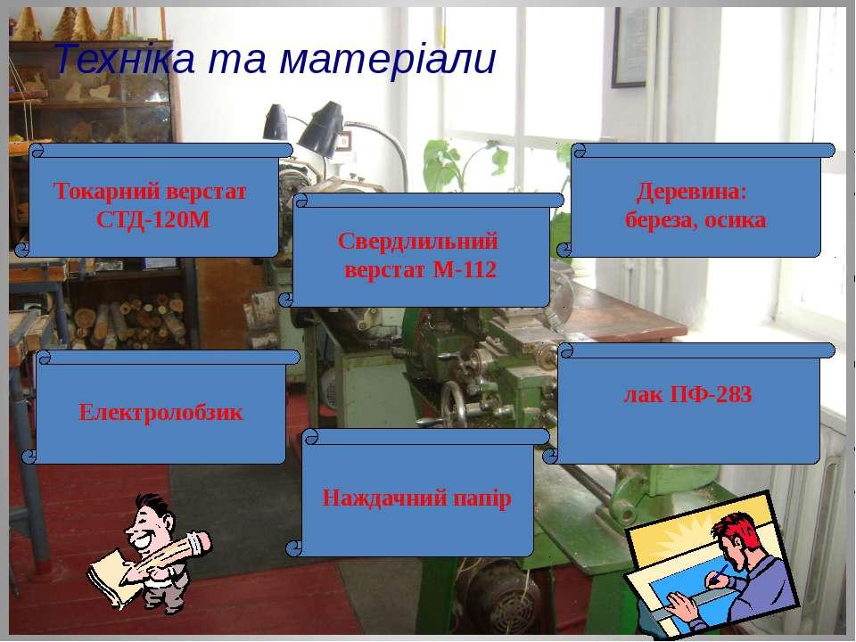 Техніка та матеріали Токарний верстат СТД-120М Свердлильний верстат М-112 Еле...
