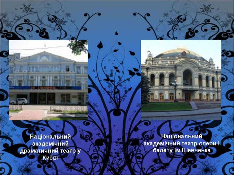 Національний академічний драматичний театр у Києві Національний академічний т...