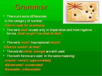 Grammar There are some differences in the category of number: Data is ready f...