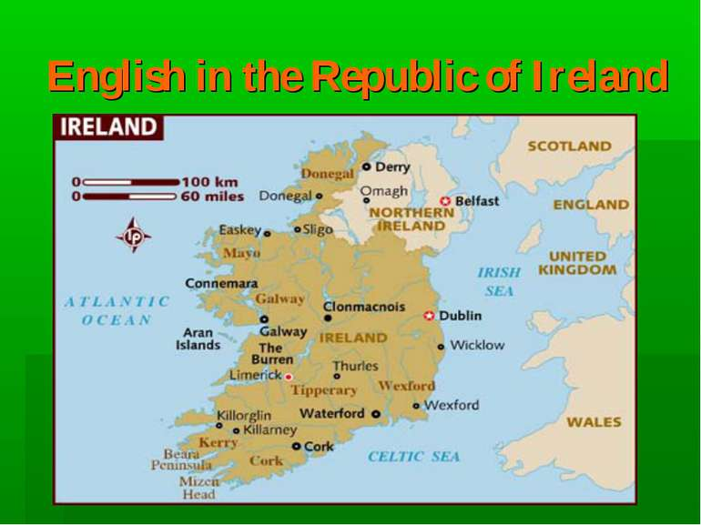 English in the Republic of Ireland