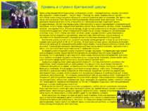 Уровень и ступени британской школы Здесь уклад определяется традициями, а отн...