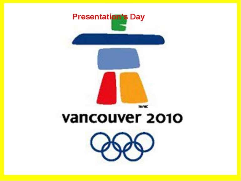 Presentation's Day