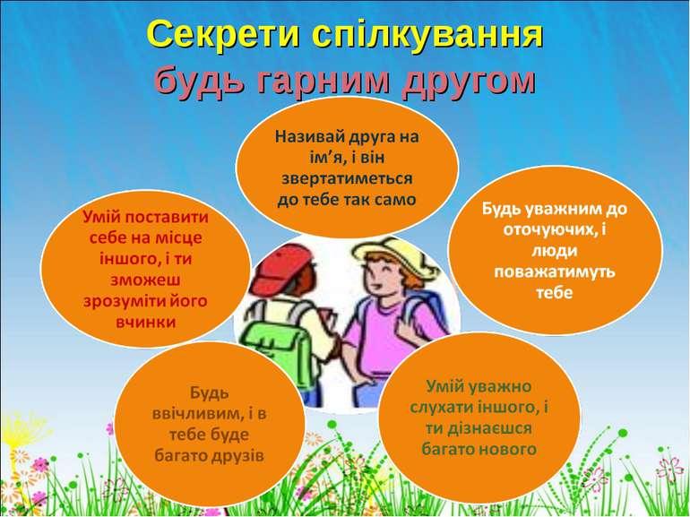 Секрети спілкування будь гарним другом