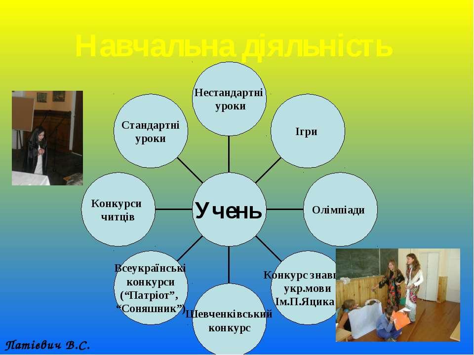 Навчальна діяльність