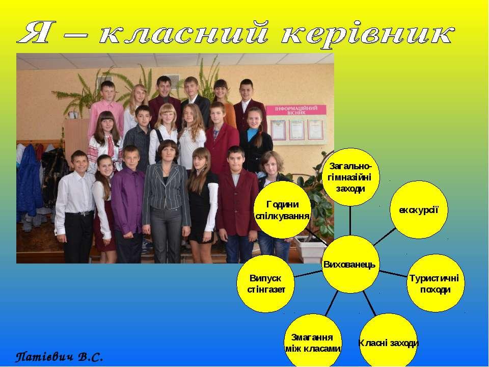 Патієвич В.С.
