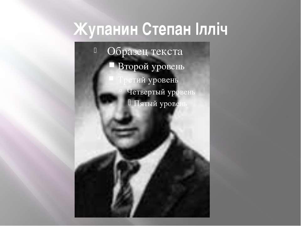 Жупанин Степан Ілліч