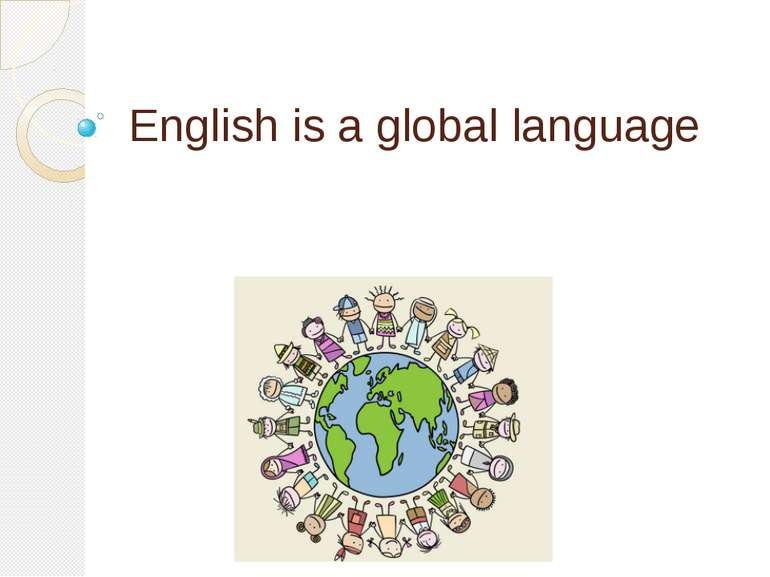English is a global language