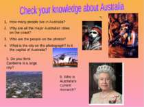 How many people live in Australia? Why are all the major Australian cities on...