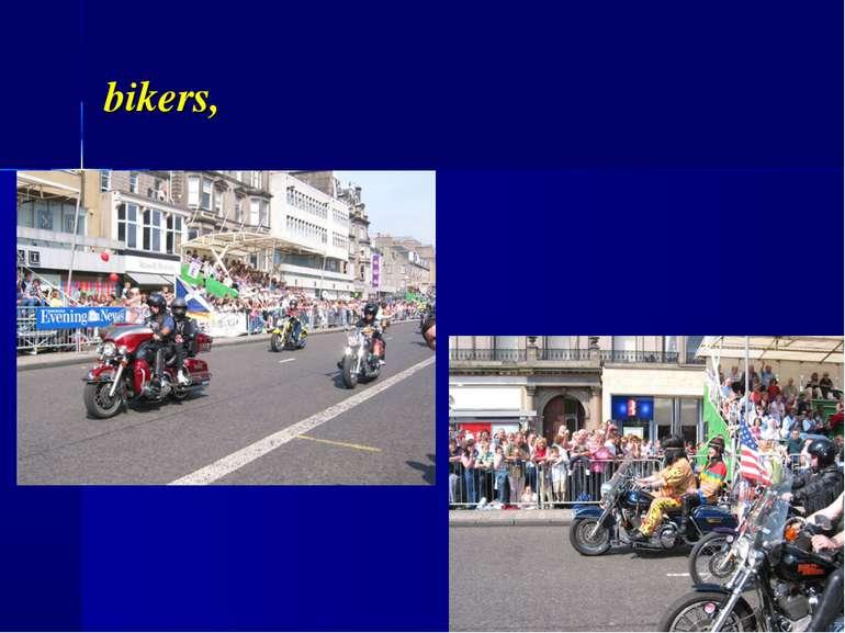 bikers,