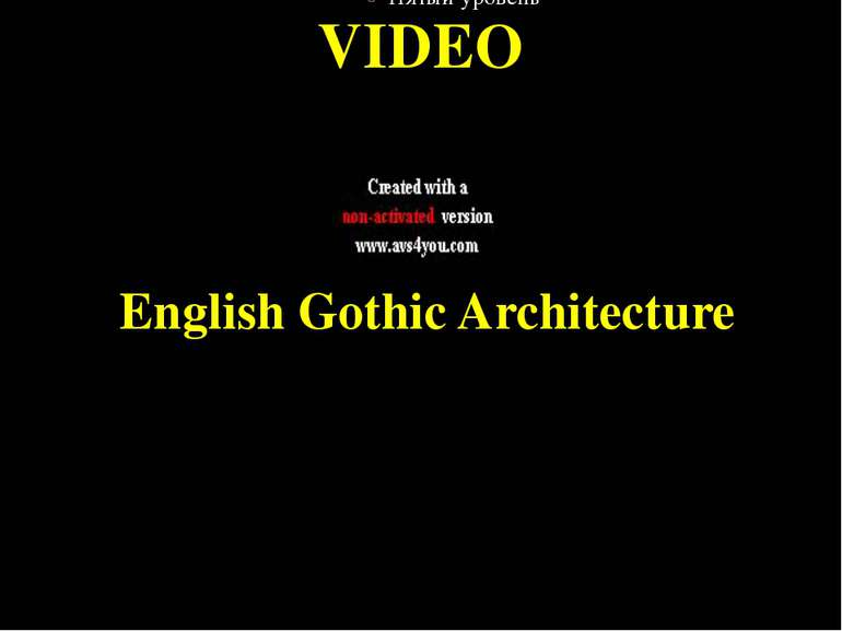 English Gothic Architecture VIDEO