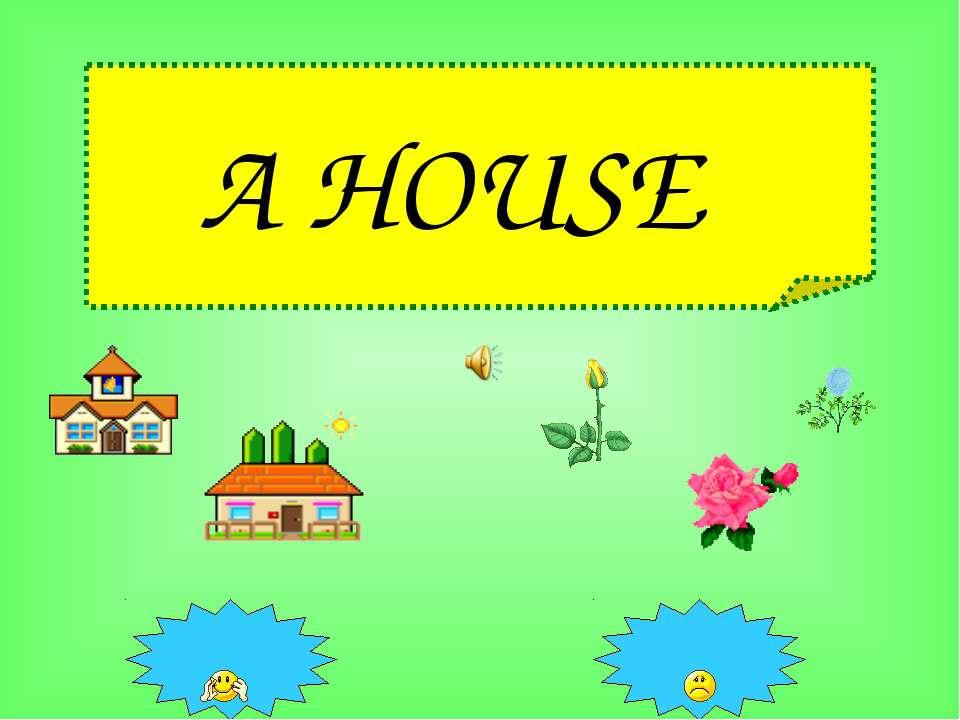 A HOUSE