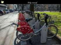 Bike rental *