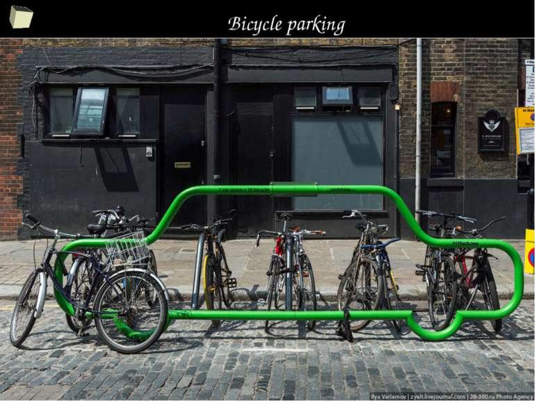 Bicycle parking *