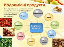 Йодовмісні продукти Після Чорнобильської катастрофи у жителів нашої країни ви...