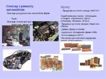 """Слюсар з ремонту автомобілів: Прилади для діагностики автомобілів фірми """"Bosh..."""