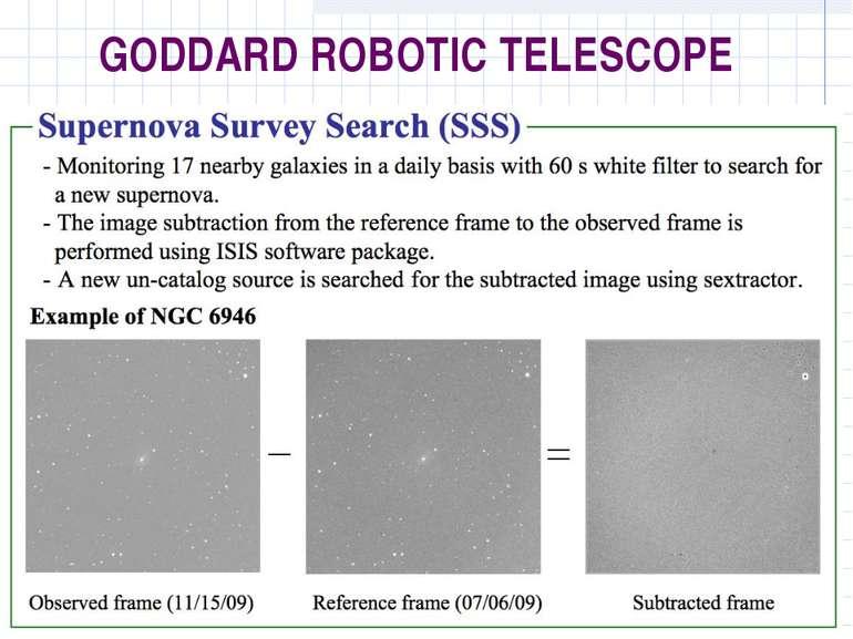 GODDARD ROBOTIC TELESCOPE