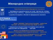 Міжнародна співпраця Чорнобильська програма відродження та розвитку: впровадж...