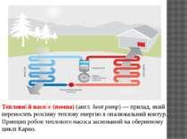 Теплови й насо с (помпа) (англ. heat pump)— прилад, який переносить розсіяну...