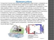 Принцип роботи Холодоагент під високим тиском через капілярний отвір попадає ...