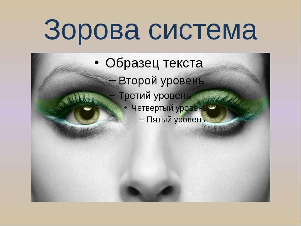 Зорова система