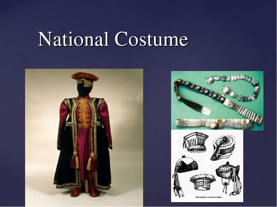 National Costume