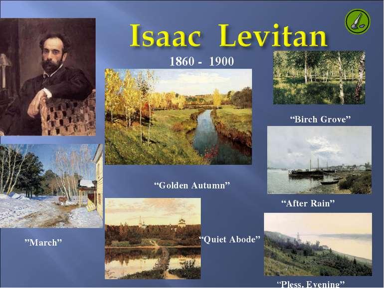 """1860 - 1900 """"Quiet Abode"""" """"March"""" """"Pless. Evening"""" """"Golden Autumn"""" """"After Rai..."""