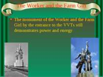 The Worker and the Farm Girl The monument of the Worker and the Farm Girl by ...