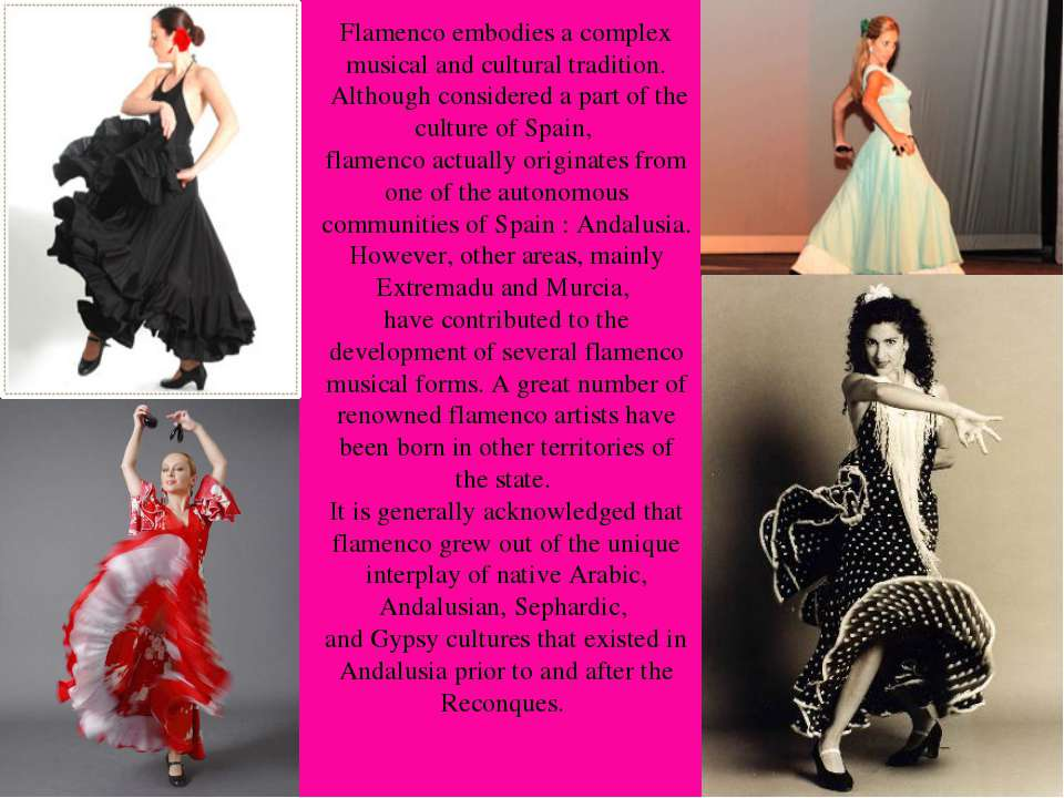 Flamenco embodies a complex musical and cultural tradition. Although consider...