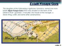 Estate Kosaya Gora The daughter of the Poltoratskys Agafoclea Suhareva owned ...