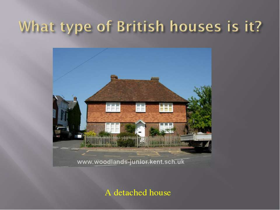 A detached house