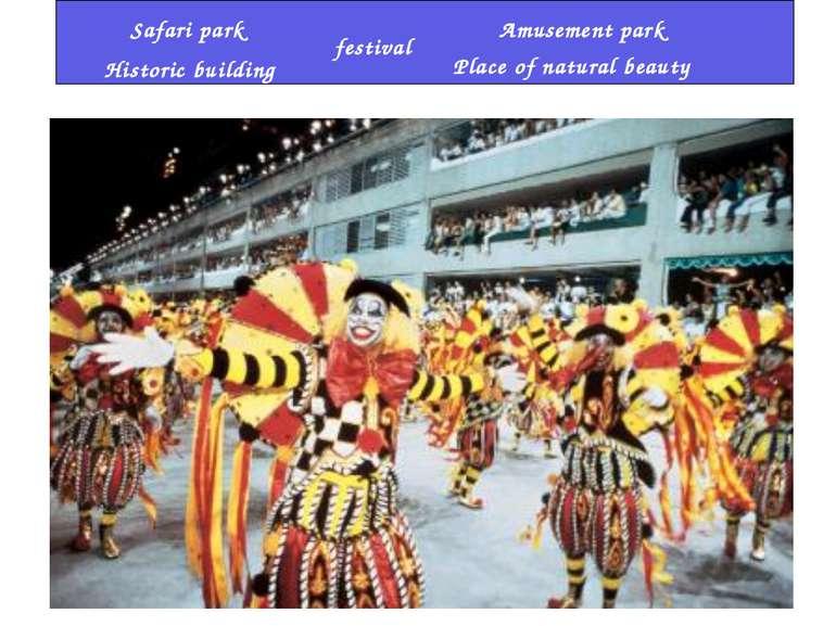 festival Amusement park Historic building Place of natural beauty Safari park
