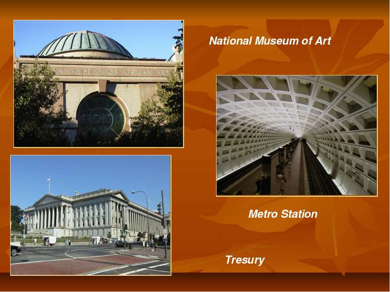 National Museum of Art Tresury Metro Station