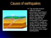 The second reason reflects deeper processes occurring in areas along the edge...