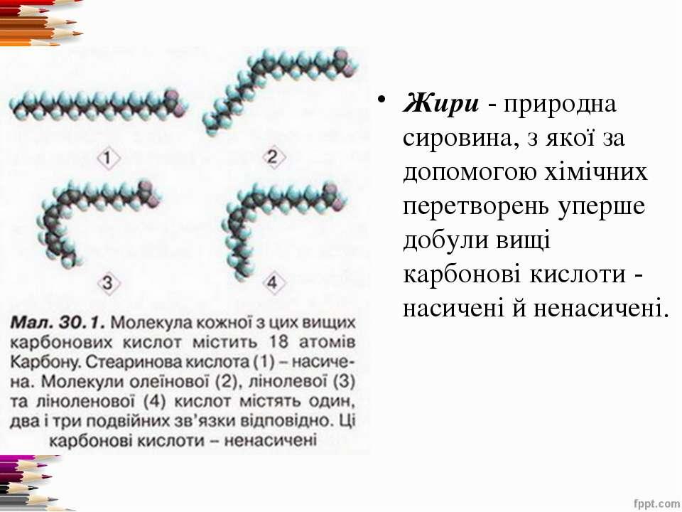 Жири- природна сировина, з якої за допомогою хімічних перетворень уперше доб...