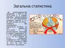 Загальна статистика  За накопичувальним підсумком, з 1987 р. до 01.01.2009 р...