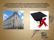 Після повернення сім'ї в Париж в 1836 Бодлер продовжив освіту в Ліцеї Людовік...