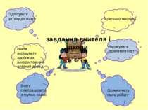 завдання вчителя і школи Підготувати дитину до життя Вчити вирішувати проблем...