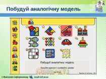 Побудуй аналогічну модель © Вивчаємо інформатику teach-inf.at.ua