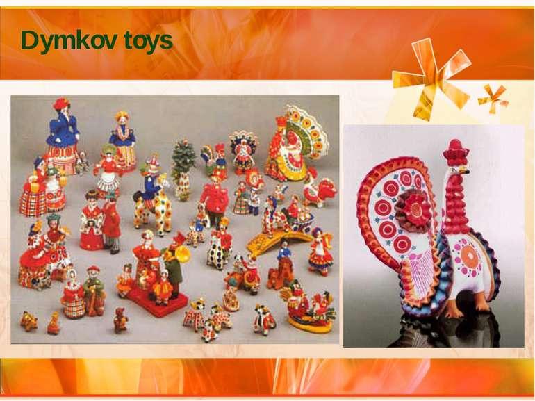 Dymkov toys