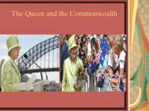 The Queen and the Commonwealth