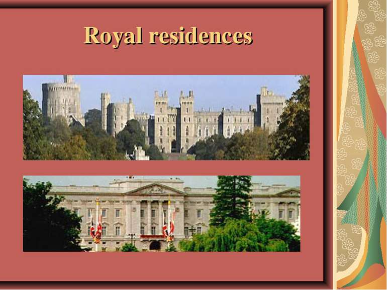 Royal residences