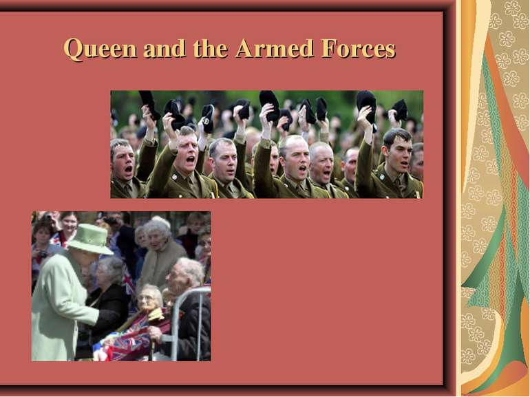 Queen and the Armed Forces