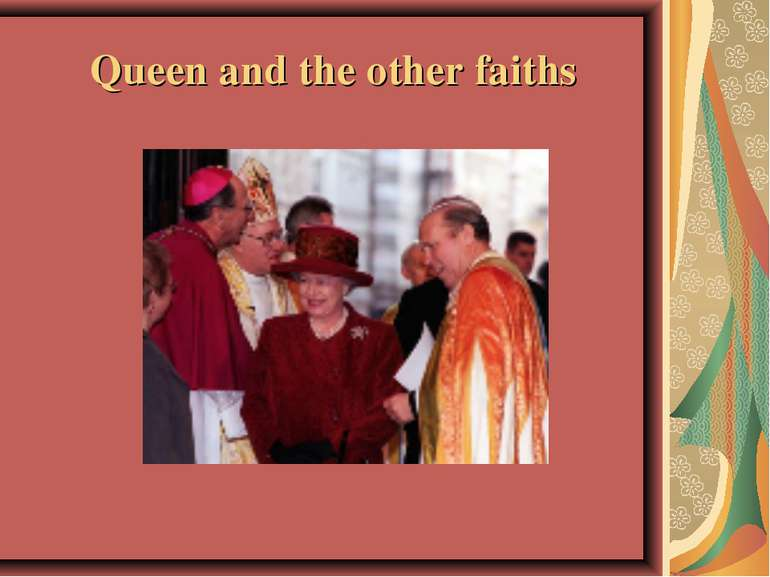 Queen and the other faiths